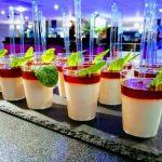 verrines cocktail dinatoire - poêle géante